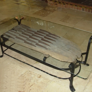 Antique Flail - Coffee Table