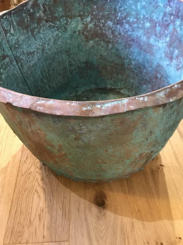 Large 19th century Copper