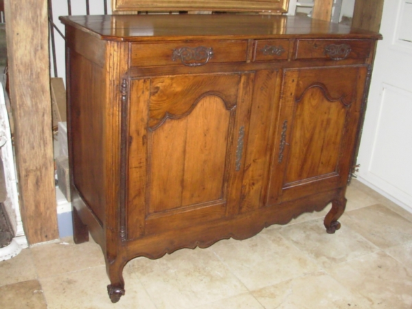 Antique Chestnut French Buffet