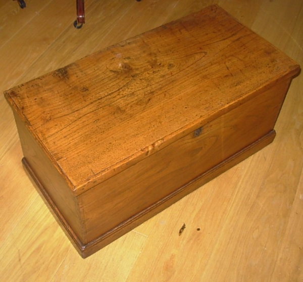 Antique Elm Trunk