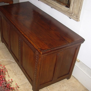 Antique English Coffer
