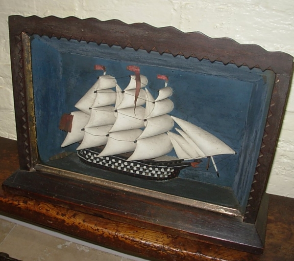 Diorama - Sailing Ship