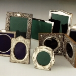 Antique Silver Photograph Frames