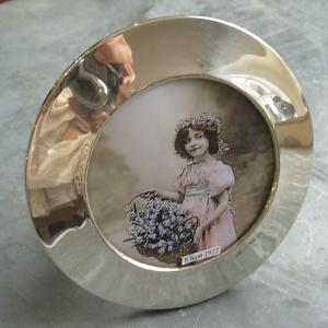 silver photoframe