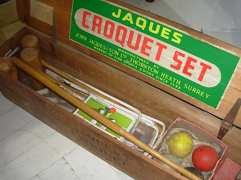 Vintage Croquet Set in Box