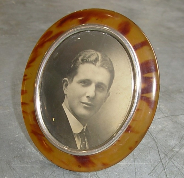Oval French Photo Frame