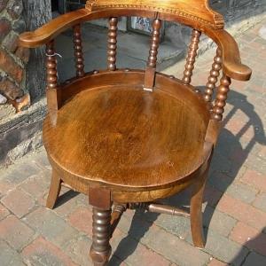 Vintage Captain's Chair