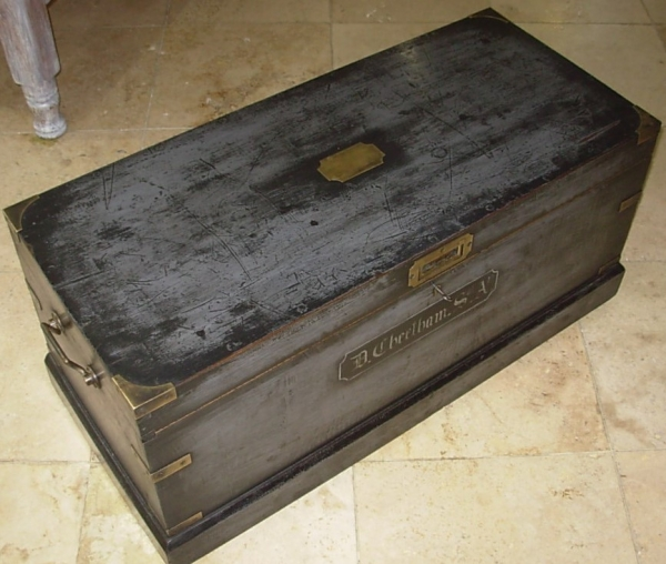 Vintage Journeyman's Trunk